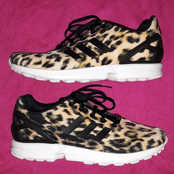 premium selection 12a72 514e3 adidas Shoes - Leopard Adidas Torsion Sneakers